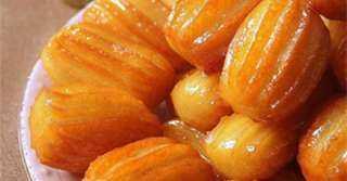 أسهل وصفة لبلح الشام بطريقة الحلواني