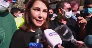 جزء من قلبى تمزق .. ماجدة الرومي: كارثة انفجار بيروت مدبرة وكل الطوائف تساوت فى الموت
