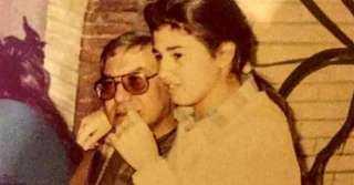 بـ صورة نادرة.. رانيا فريد شوقى تستعيد ذكريات طفولتها مع والدها